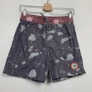 Imperial Motion Hayworth Purple Board Shorts Paint